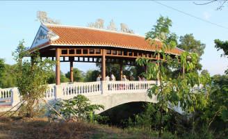 Thêm một chiếc cầu ngói trên đất Thừa Thiên Huế
