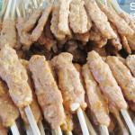 Hương vị tuyệt vời của nem lụi xứ Huế