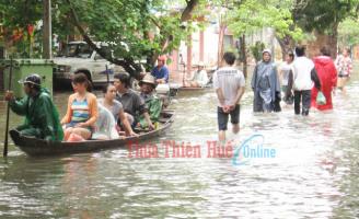 Lũ lụt và những tổn thương cho vùng đô thị Huế