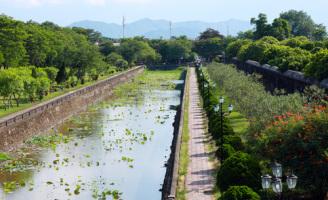 Cảnh đẹp thanh bình ở thành phố Huế