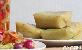Thăm phố bánh chưng Nhật Lệ ngày cận Tết