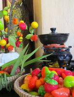 Bánh trái cây rực rỡ sắc Tết Huế