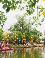 Về cầu ngói Thanh Toàn, đi chợ quê ngày hội