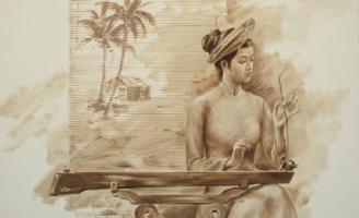 Tính năng của đàn bầu trong dàn nhạc tuồng ở Huế