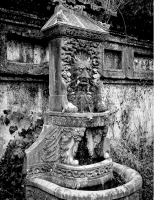Nghệ thuật trang trí đài nước đặc sắc ở điện Kiến Trung