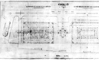 Công bố bản họa đồ thiết kế chợ Đông Ba năm 1951