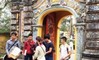 Tam quan cung An Định – Những bất ngờ trên hành trình khám phá Huế xưa