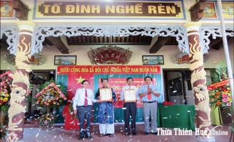 Về với làng nghề truyền thống Hiền Lương