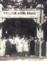 Nữ hiệu trưởng cuối cùng của trường Đồng Khánh