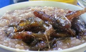 Cháo gạo đỏ cá bống thệ – món ngon Huế xưa