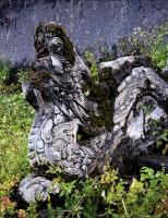 Dấu tích tạo hình độc đáo tại lăng Thoại Thánh