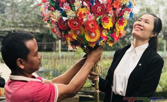 Thanh Tiên vào mùa hoa giấy