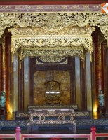Ngắm từng góc cạnh ngai vàng các vua nhà Nguyễn