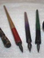 Những cây bút cũ