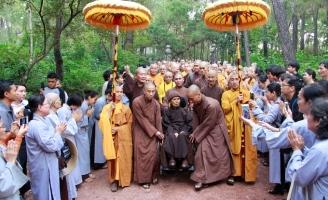 Thiền sư Thích Nhất Hạnh sẽ ở lại Huế tịnh dưỡng đến cuối đời