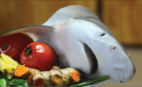 Sần sật canh chua cá nhám