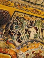 Vẻ đẹp Đông – Tây trong nghệ thuật trang trí Lăng Khải Định
