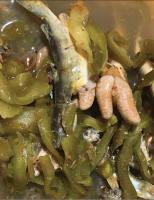 Cá ngạnh nấu xương rồng