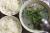 Canh hến nấu bắp chuối sứ
