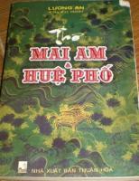 Tam Khanh – Những vần thơ từ trong khuê các