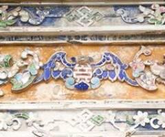 """Ý nghĩa các biểu tượng """"hóa"""" trong trang trí mỹ thuật thời Nguyễn"""