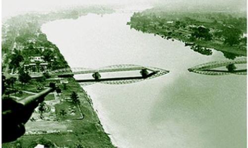 Lịch sử thăng trầm của cầu Trường Tiền qua ảnh